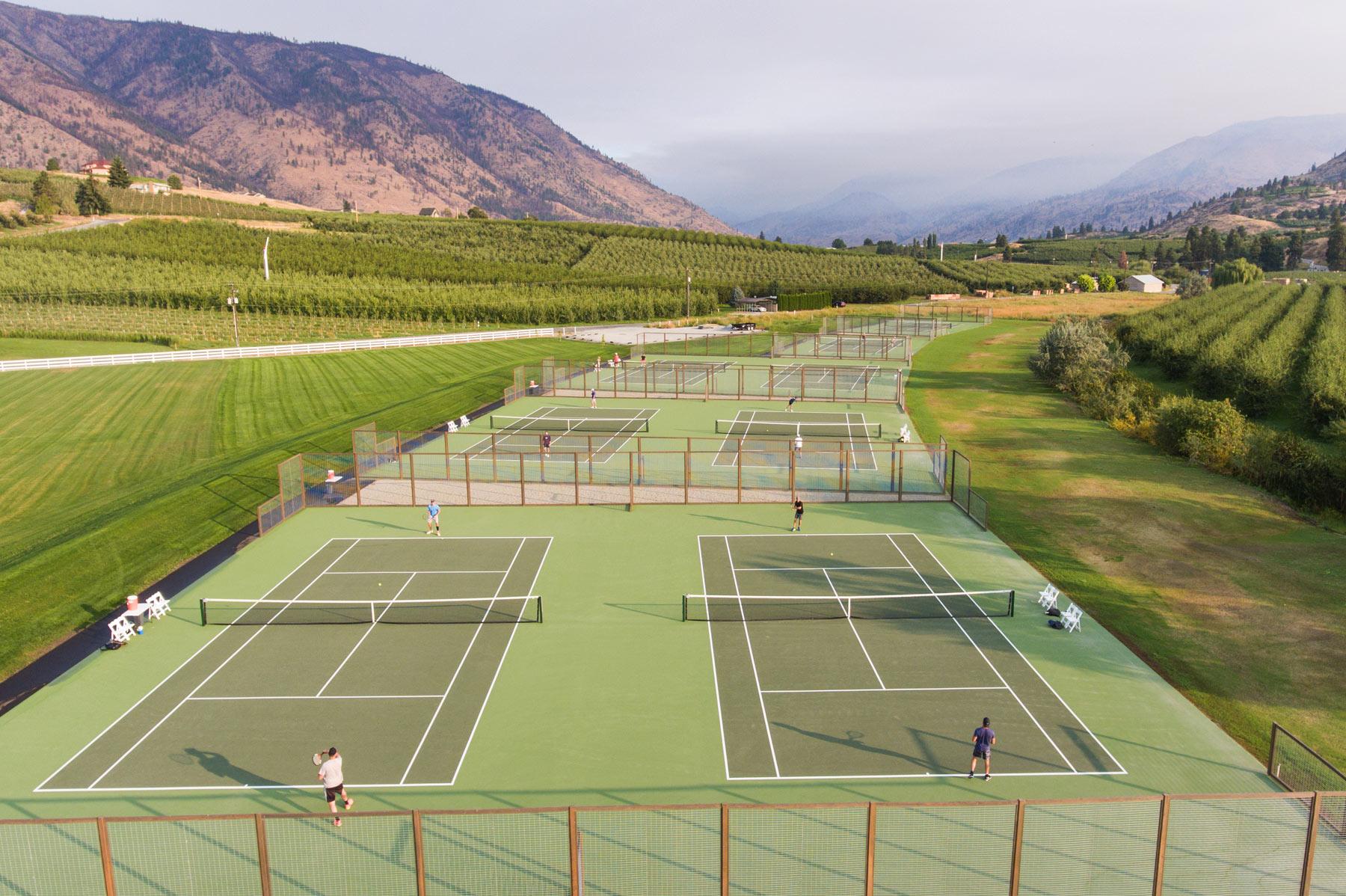 Lake Chelan Tennis Harmony Meadows
